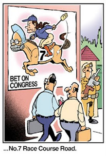 Electoral politics on the cusp of a major change?  |  Cartoon By Ajit Ninan (Times Of India) on March 26, 2009